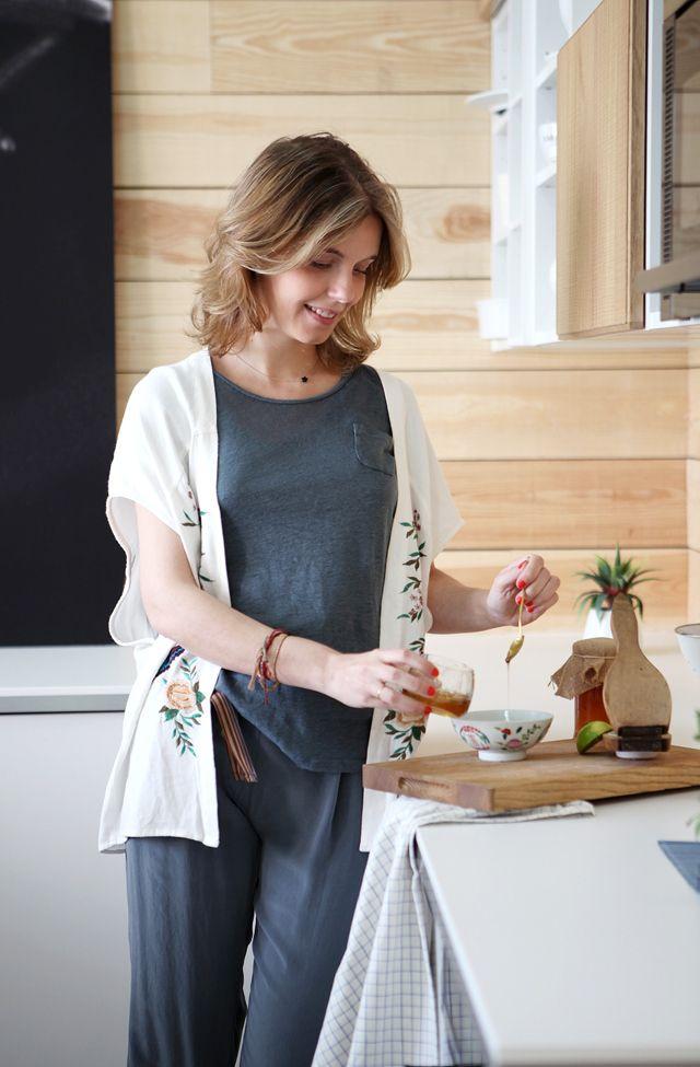 recetas sanas - pollo con miel