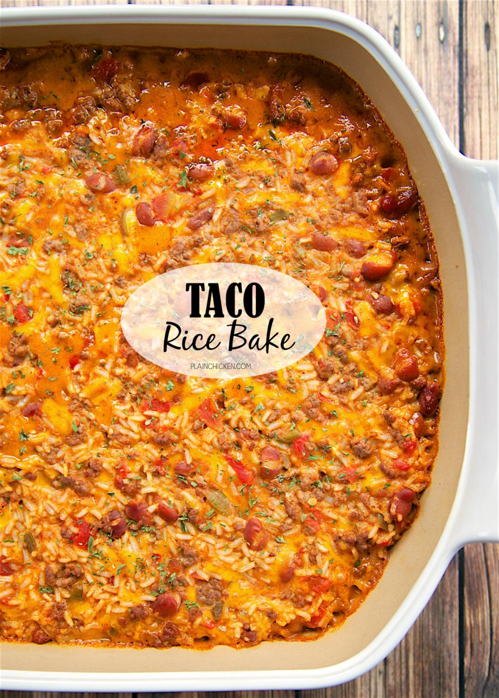 Photo of Taco Rice Bake