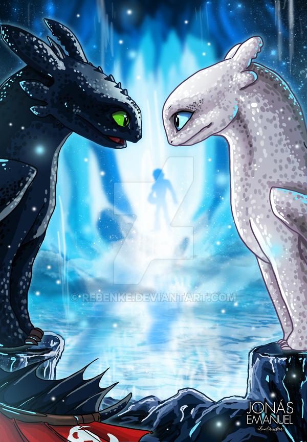 Como Entrenar A Tu Dragon 3 By Rebenke Como Entrenar A Tu Dragon Entrenando A Tu Dragon Dibujos Bonitos