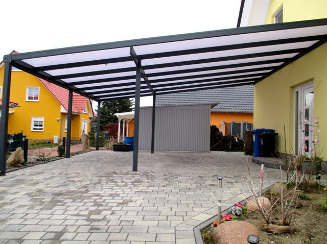 anbau carport premiumline carports pinterest anbau terrassendach und hauseingang. Black Bedroom Furniture Sets. Home Design Ideas