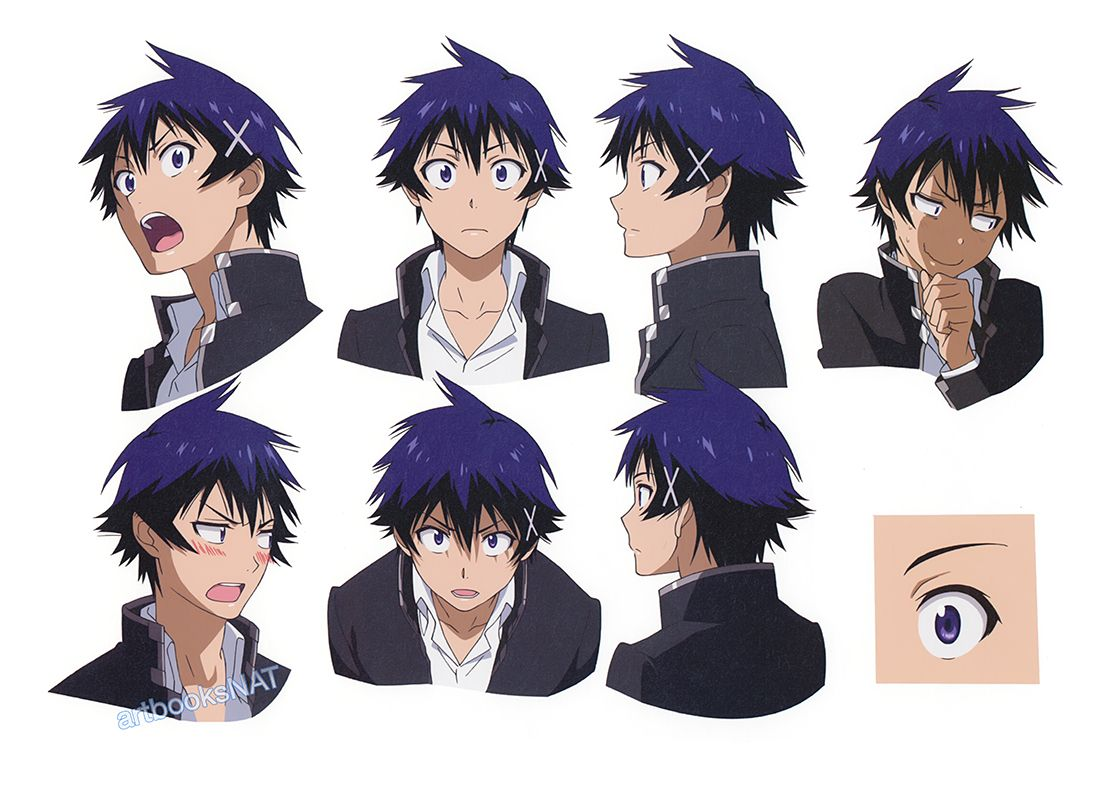 Character Design Nisekoi : Character design references https facebook
