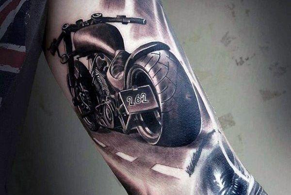 motorcycle tattoo design tatueringar pinterest motorcycle tattoos tattoo designs and tattoo. Black Bedroom Furniture Sets. Home Design Ideas