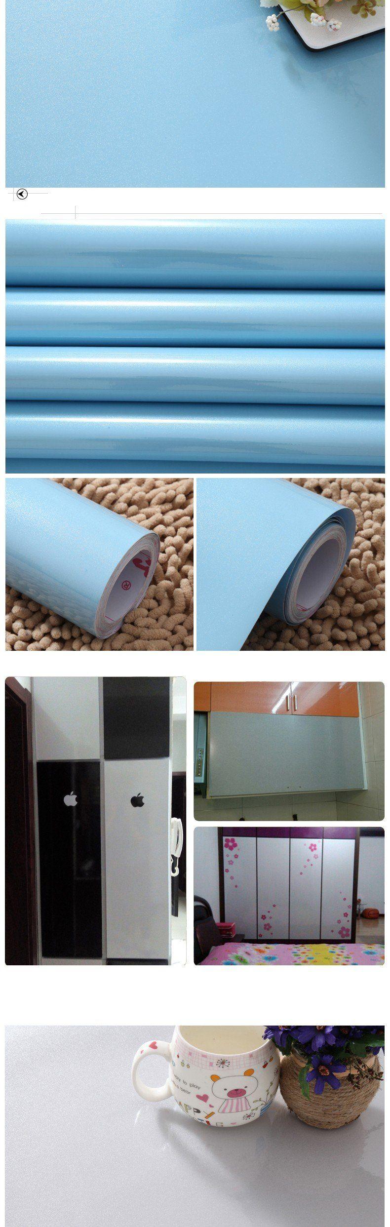 Waterproof vinyl decorative film self adhesive wallpaper