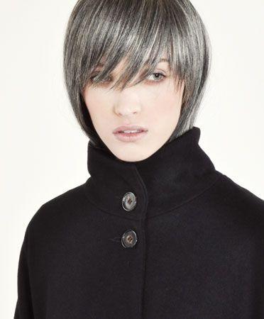 Black Full Tiana Coat by Samuji.