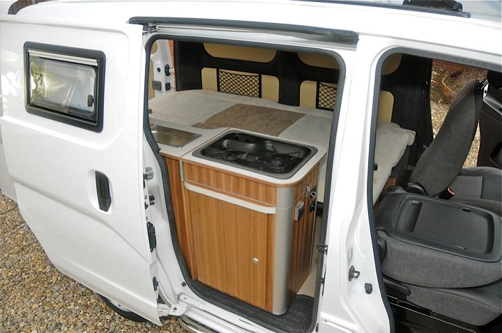 camper nissan nv200 camper van van camping transit. Black Bedroom Furniture Sets. Home Design Ideas