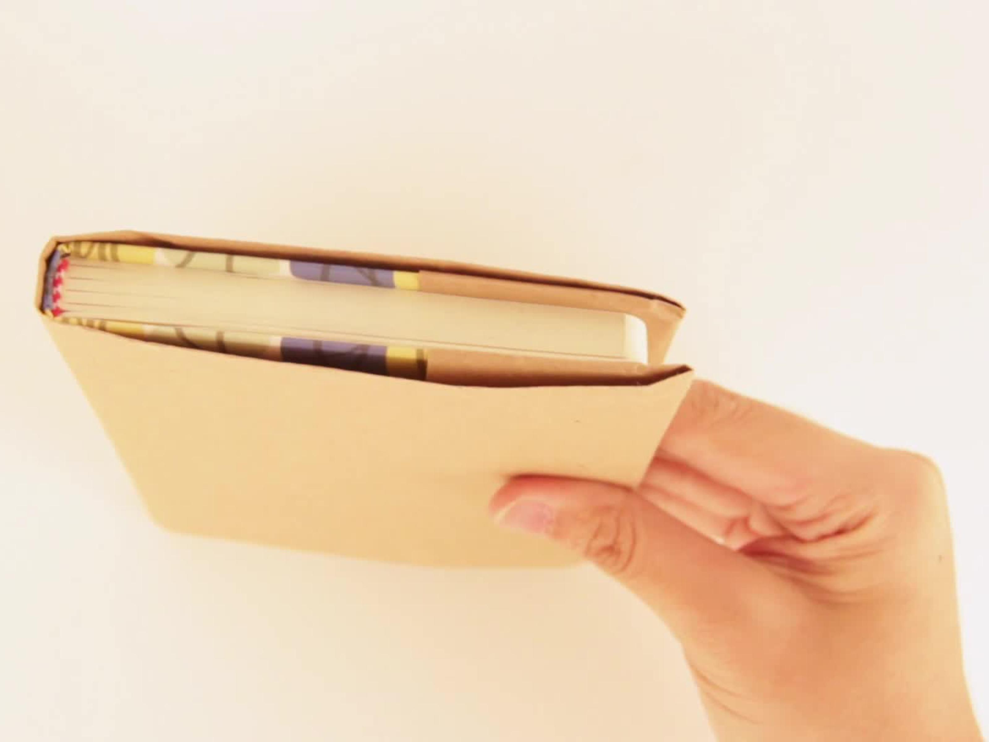How To Make A Book Cover From A Paper Bag ~ Create a paper bag book cover paper bag book cover