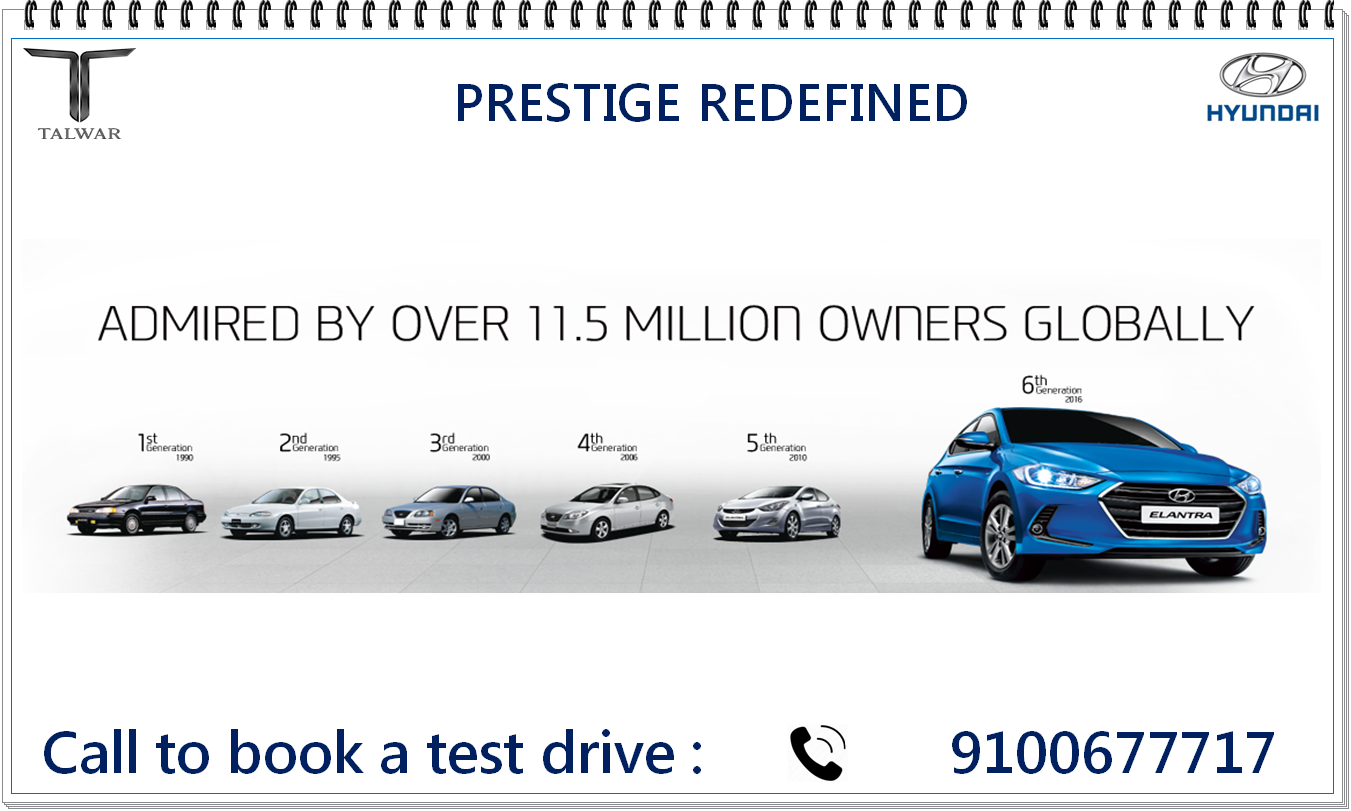 New #Elantra Experience The New Era Of Prestige. Discover The Magnificent  Definition Of A