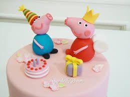 Resultado de imagen de tartas peppa pig