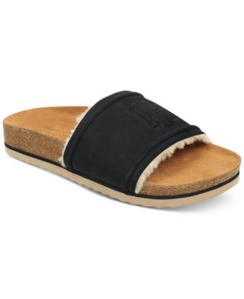 b63dafce1620 Tommy Hilfiger Women s Gala Slide Sandals - Black 6M in 2019 ...