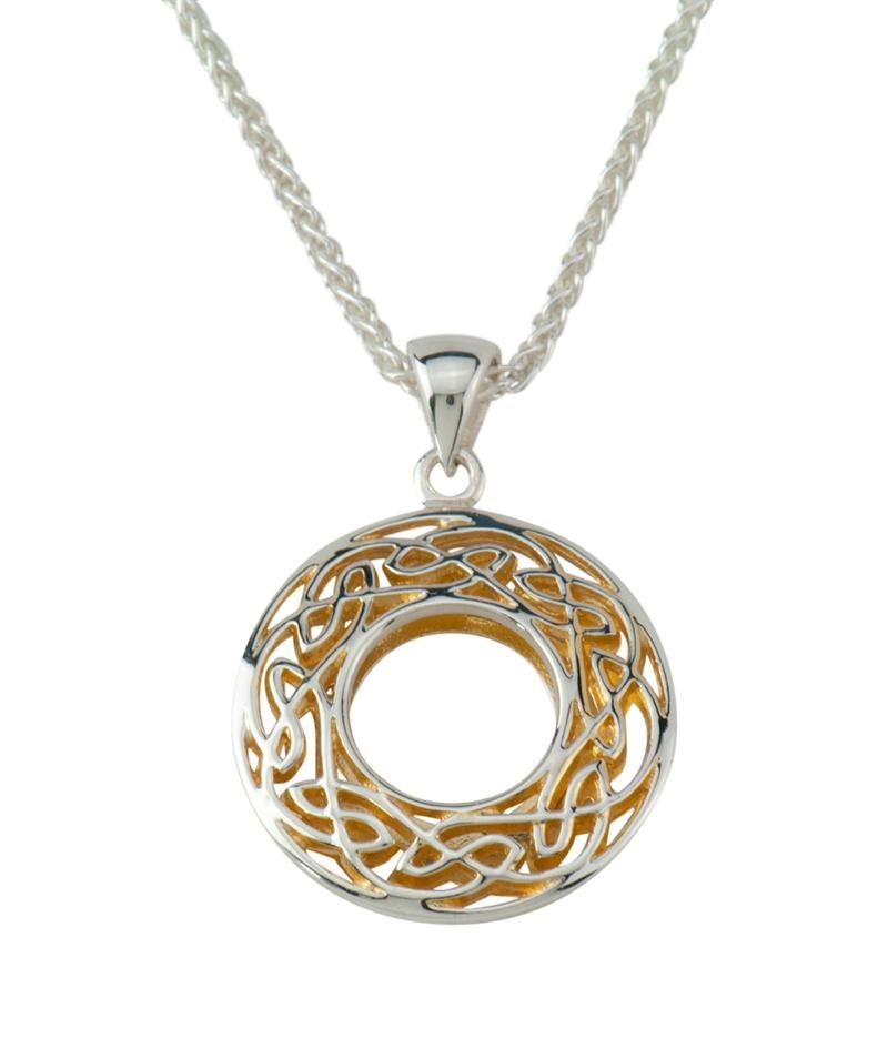 Window to the soul necklace by keith jack jewelry small celtic window to the soul necklace by keith jack jewelry small celtic pendant mozeypictures Gallery