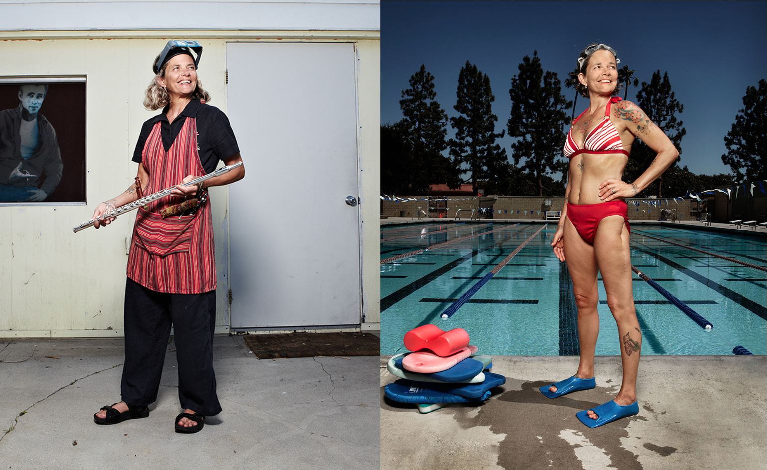 The Secret Life of Swimmers: Photographs by Judy Starkman