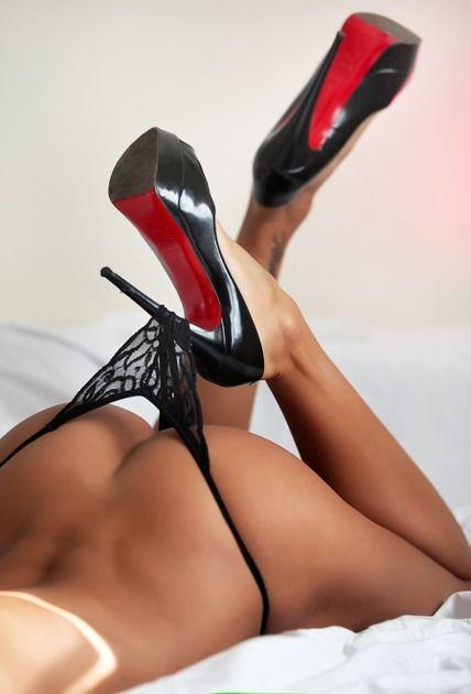Sexy ass high heels