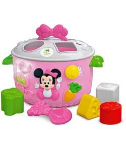 Mickey Mouse Clubhouse Minnie Shape Sorter Talking Pot Addison Xmas 2014