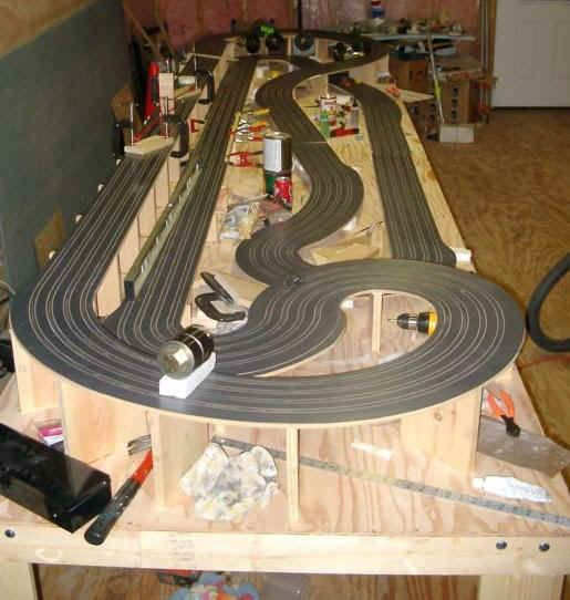 how to build carrera track supports