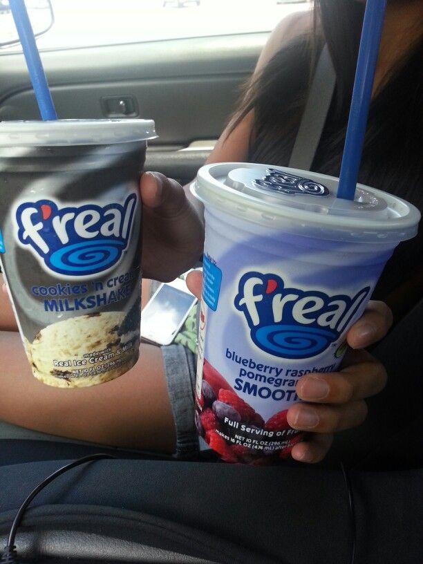 F Real Shakes Yummy Food Food Milkshake