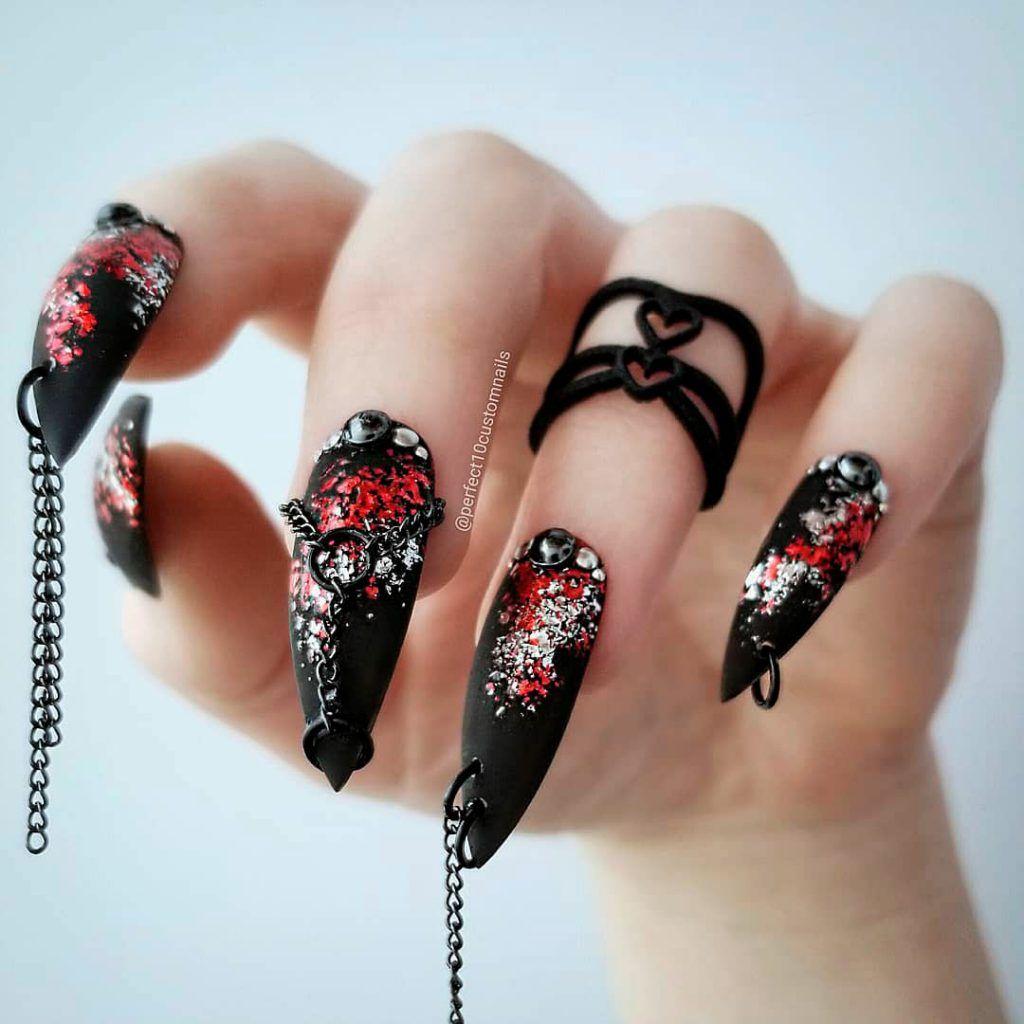 Spooky Halloween Press On Nails! #halloween # ...
