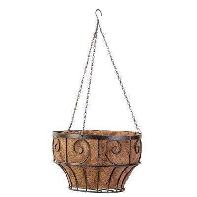 Scroll Hanging Basket