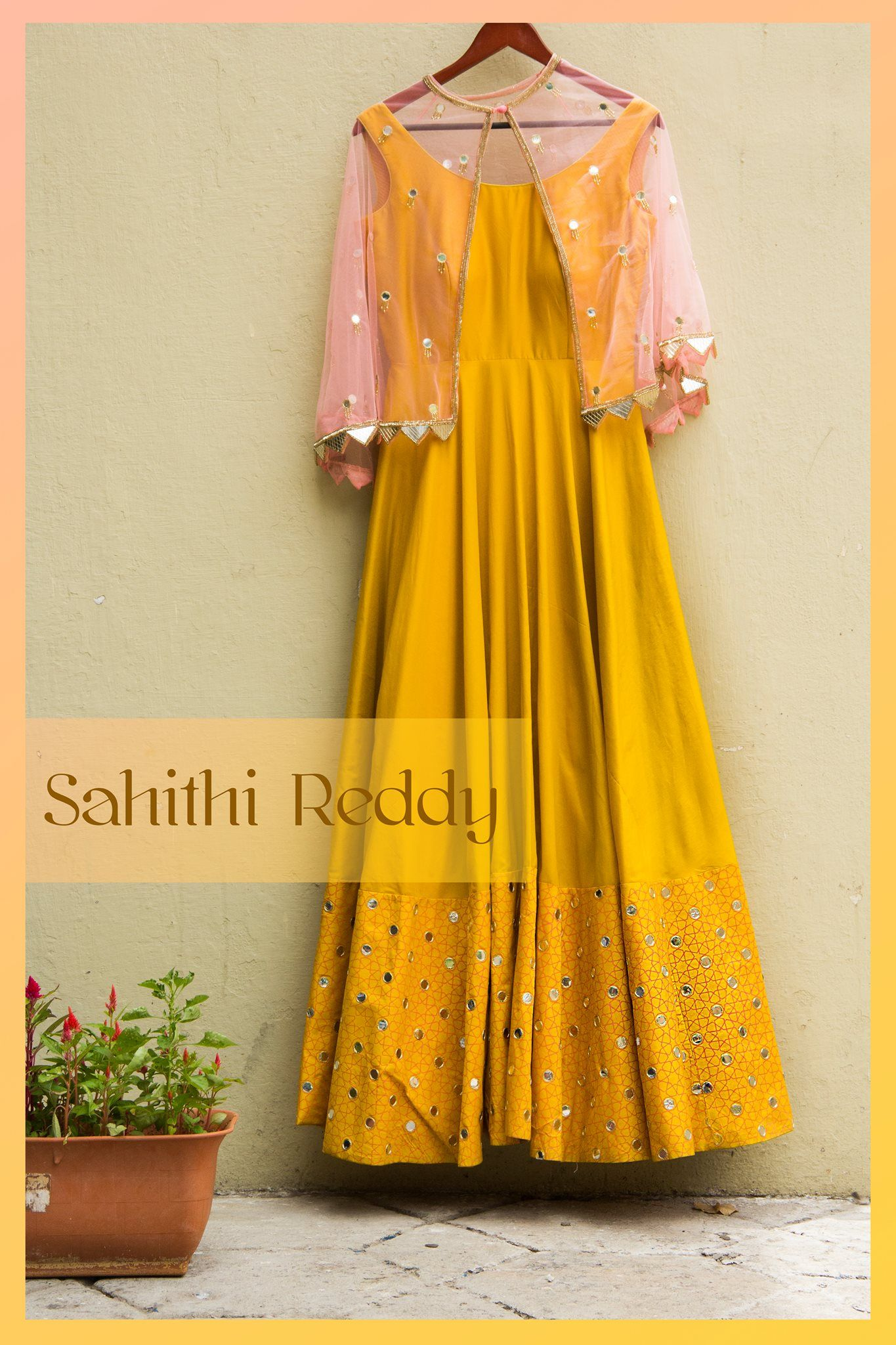 Sahithi Reddy Designer Hyderabad 22 July 2016 Designer Dresses Indian Indian Wedding Dress Designers Indian Party Wear