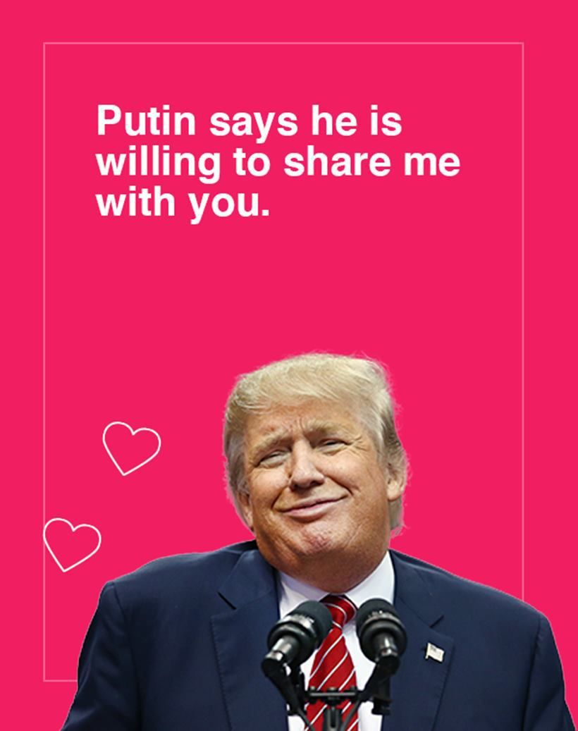 Image Result For Donald Trump Valentine Card Valentine S