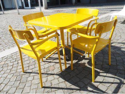 Emu Tischgruppe Grace Senffarbig Designermobel Mainz Tische