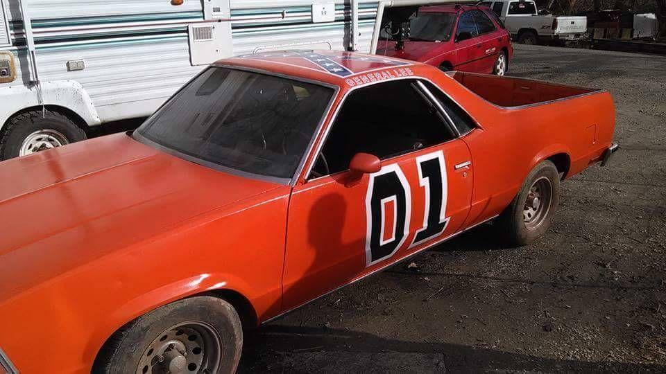 Dukes Of Hazzard General Lee Vinyl Car Truck Door Decals W Red And Blue Banner Car General Lee Door Decals