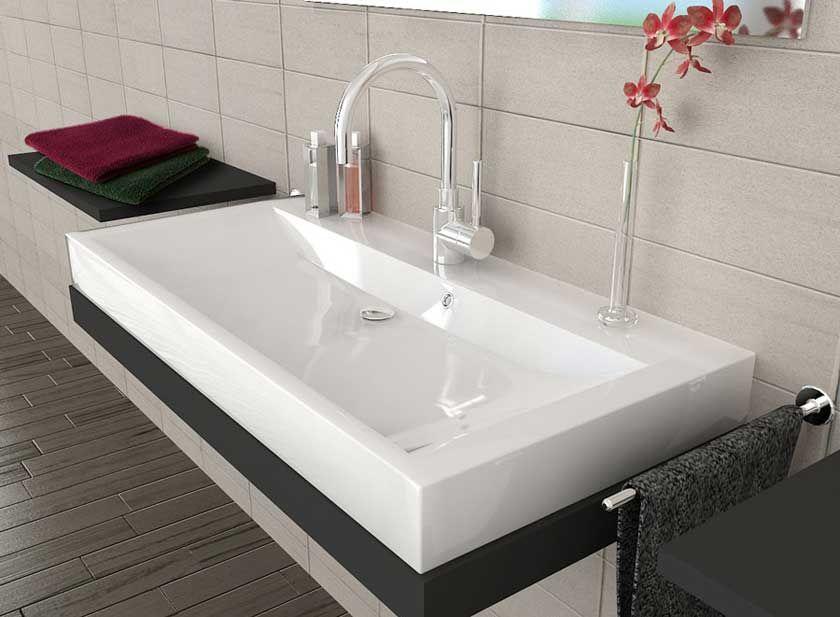 waschbecken eckig home in 2018 pinterest waschbecken eckig waschbecken und waschbecken bad. Black Bedroom Furniture Sets. Home Design Ideas