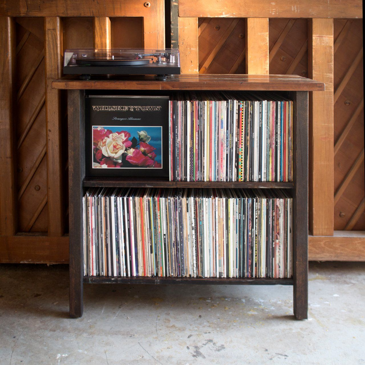 turntable stand lp storage record player stand lp. Black Bedroom Furniture Sets. Home Design Ideas