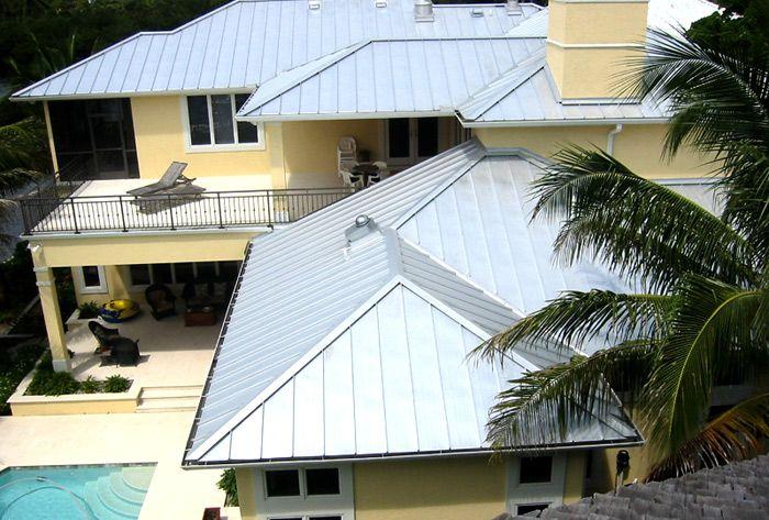 Traditional 5V Crimp Metal Roof