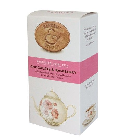 English Tea Biscuit Chocolate Raspberry