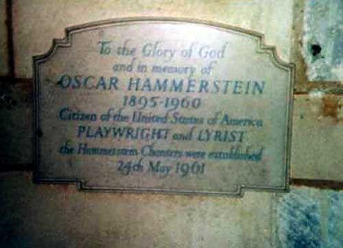 Oscar Hammerstein Ii 1895 1960 Lyricist Known Especially For