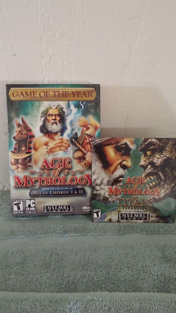 Age Of Mythology 2003 Pc Game The Titans Expansion 2007 Strategy