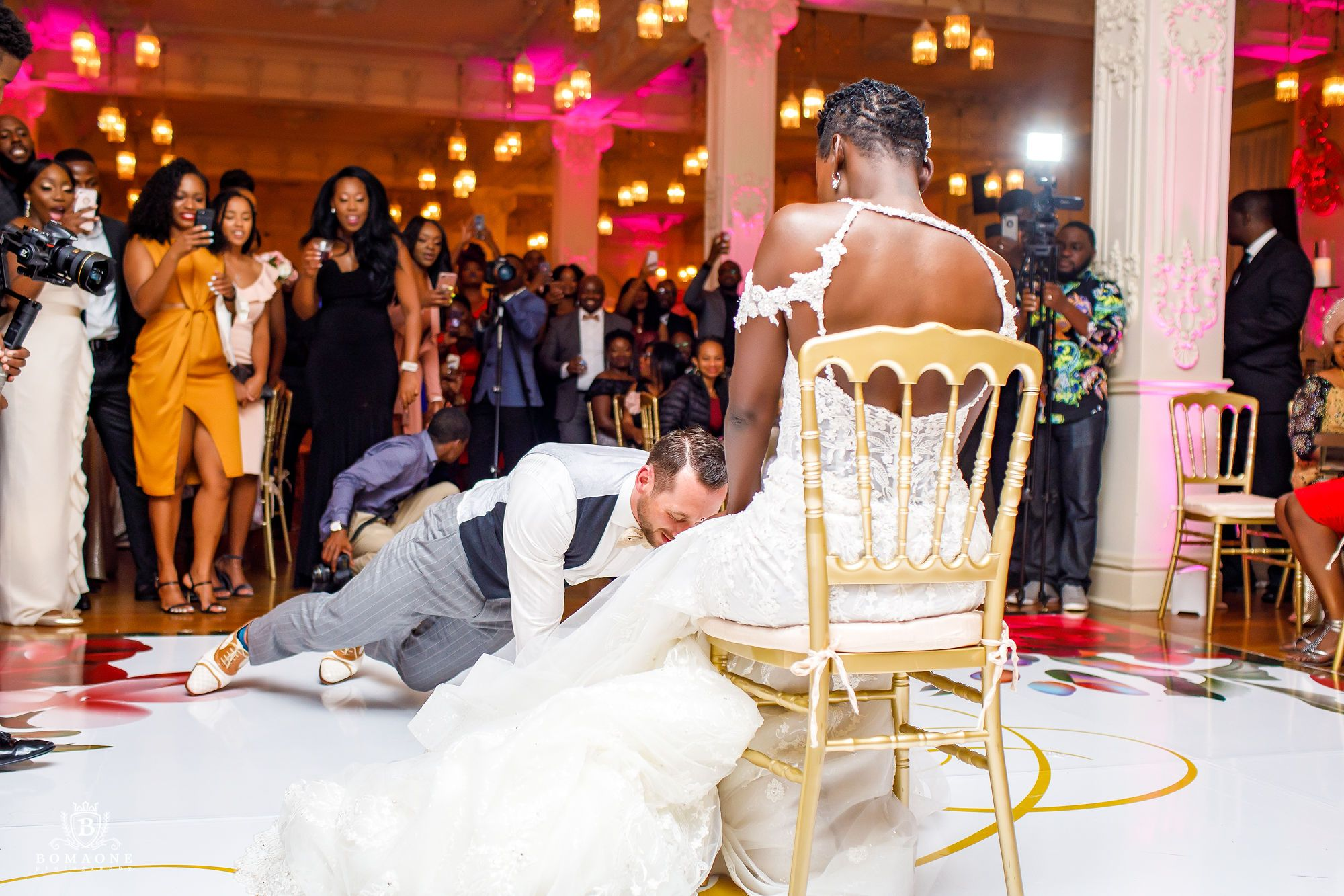 Garter Removal Beautifully Planned Executed By Touch Of Jewel Touchofjewel Tojweddin Dallas Wedding Planner Luxury Wedding Planner Bella Naija Weddings