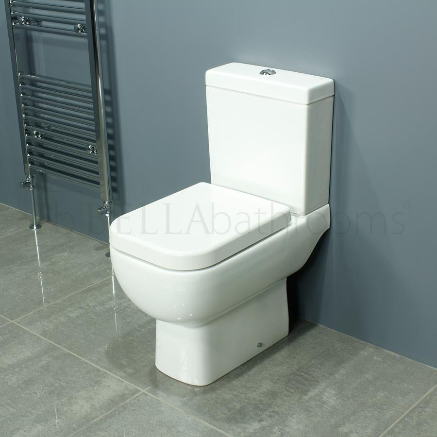 RAK Series 600 Short Projection Toilet 600mm - Small Toilets ...