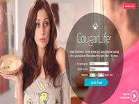 what is cougar life website