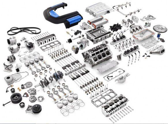 These Are The Parts To A Corvette Zr1 I Want To Just Build