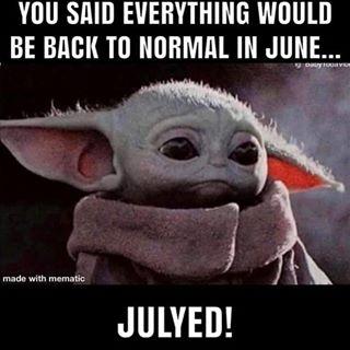 Baby Yoda Babyyodaitmemes Instagram Photos And Videos Yoda Funny Yoda Meme Funny Relatable Memes