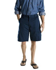 "Dickies 8.5 oz., 10"" Loose Fit Cargo Short 40214 DK NAVY 34"