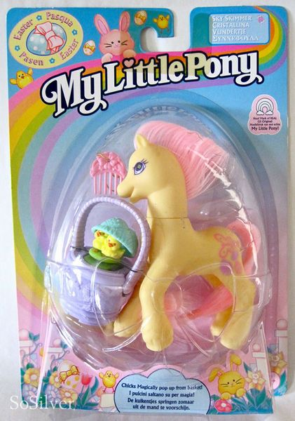 My Little Pony G2 MOC Easter Sky Shimmer | Toybox | My