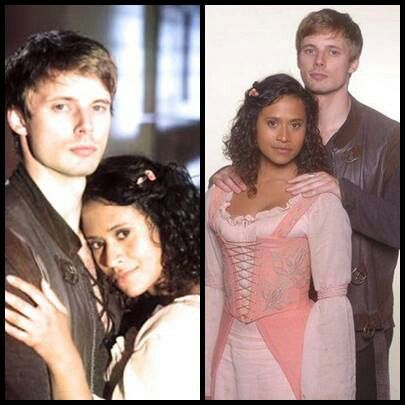 Bradley James Girlfriend Angel Coulby Bradley James & An...