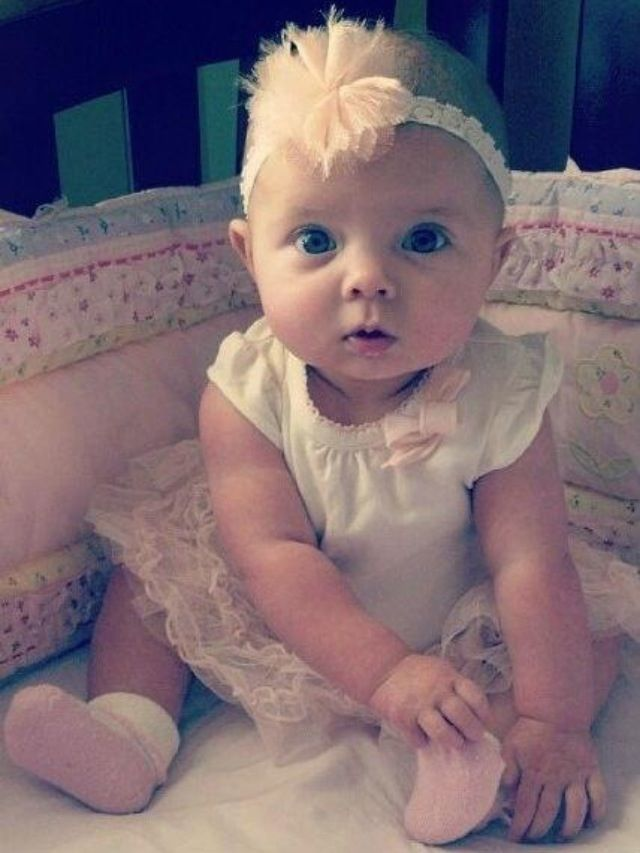Baby Girl With Blue Eyes Www Pixshark Com Images
