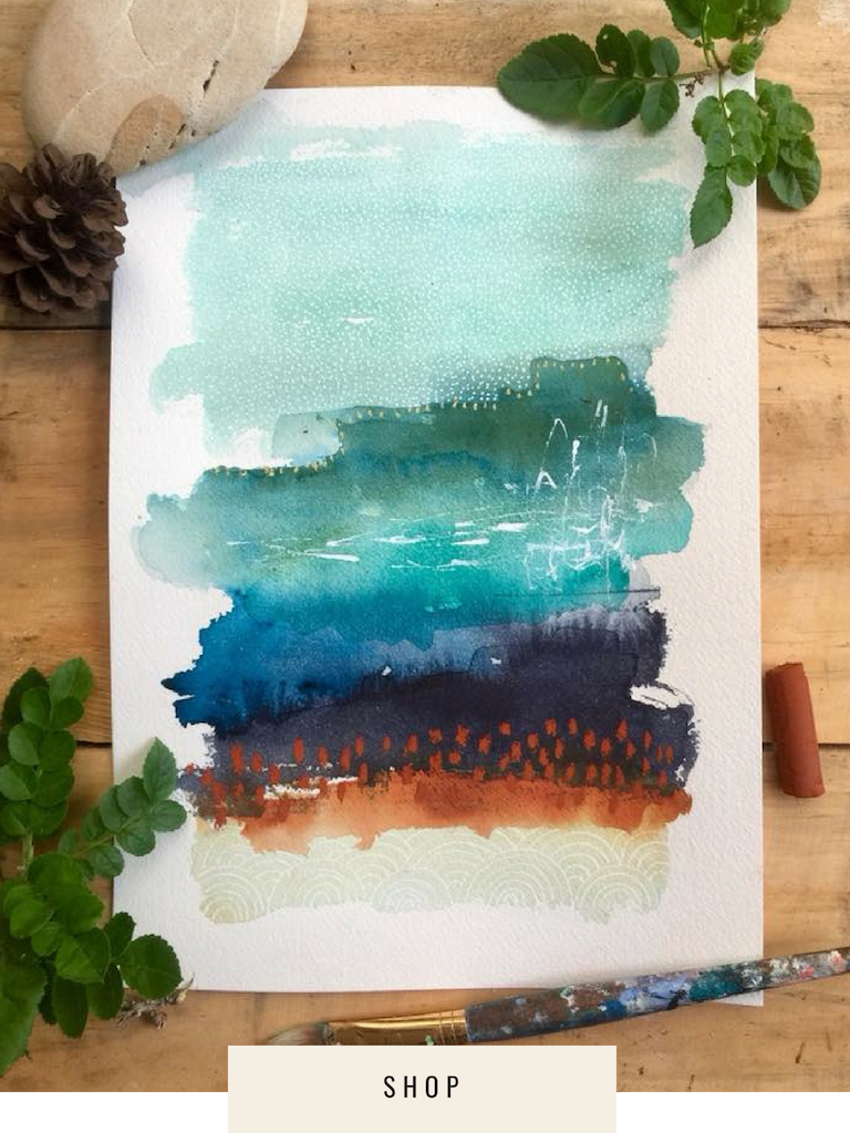 New Watercolour Abstracts — LAURA HORN ART -   13 diy Art watercolor ideas