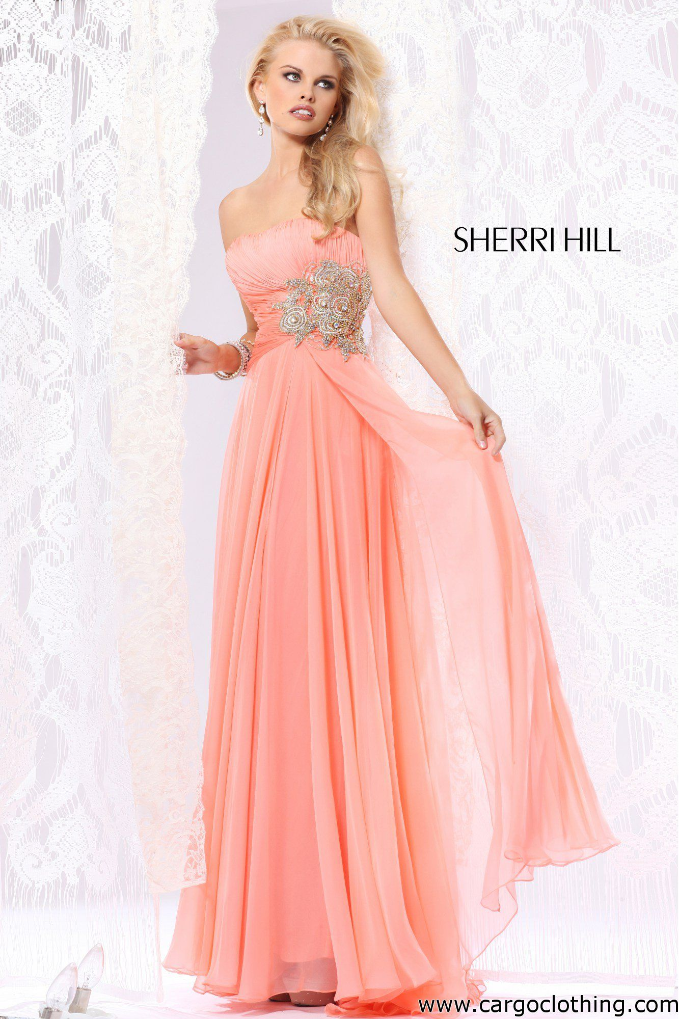 Sherri Hill 1556 Evening Dress www.cargoclothing.com | boda fer ...