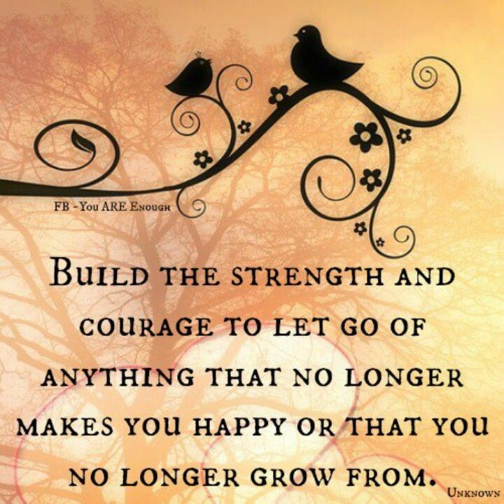 Strenght and courage