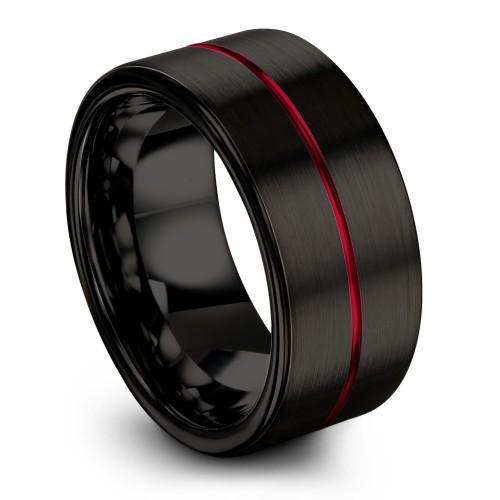 Dark Knight Crimson Allure 10mm Fancy Wedding Ring Walmart Wedding Rings Cheap Wedding Rings Mens Wedding Rings