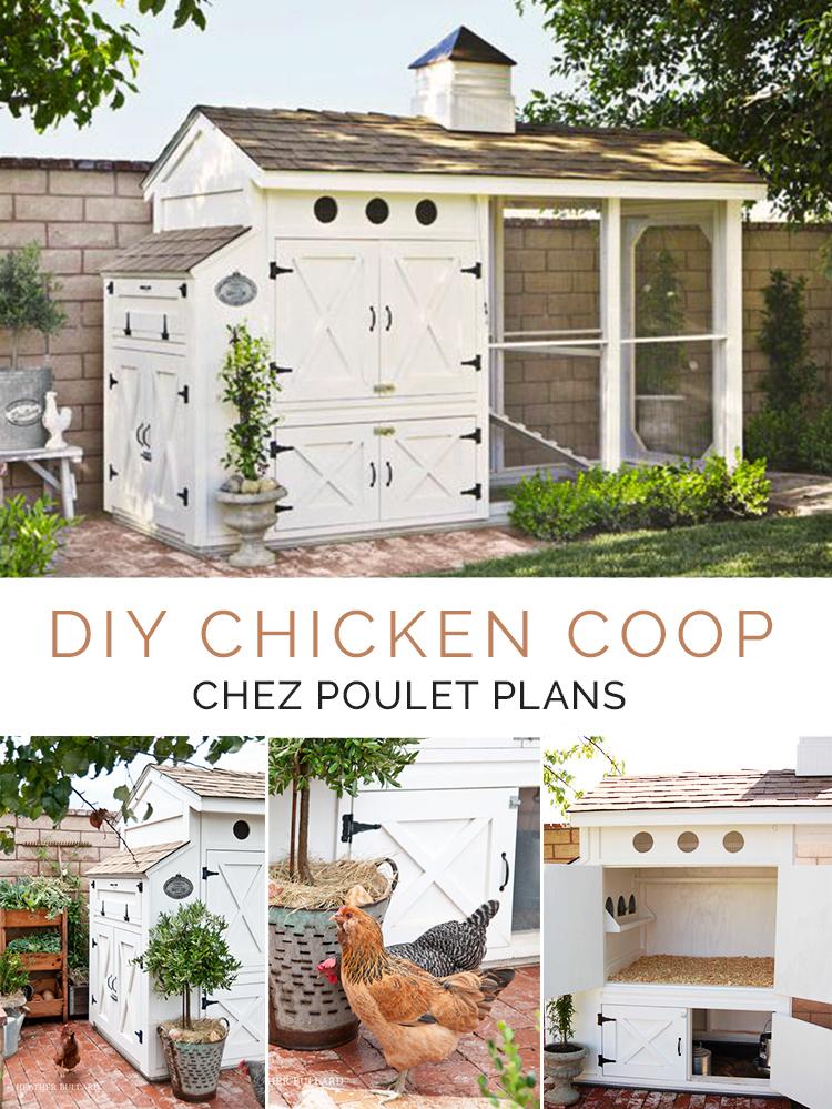 DIY Chicken Coop - Chez Poulet Plans