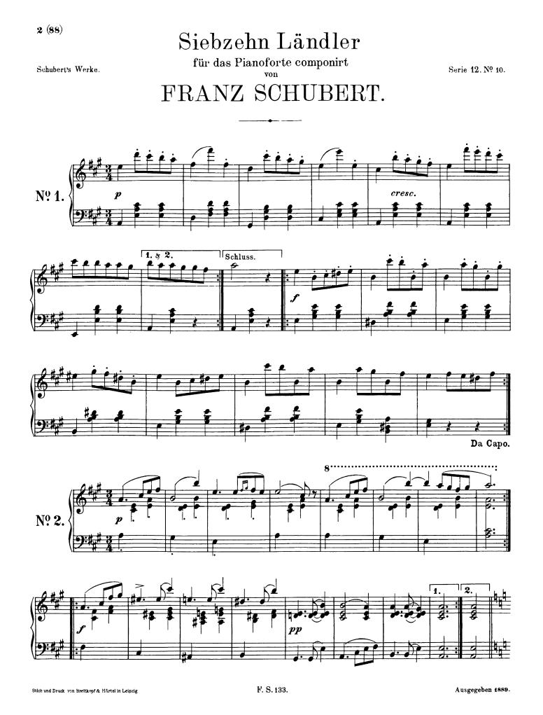 17 Ländler, D 366 (Schubert, Franz) - IMSLP/Petrucci Music Library