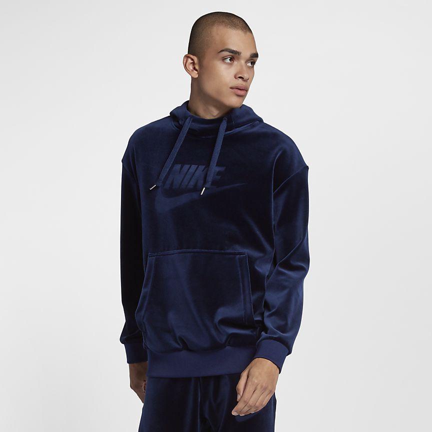 92f8625becdc Nike Sportswear Velours hoodie voor heren