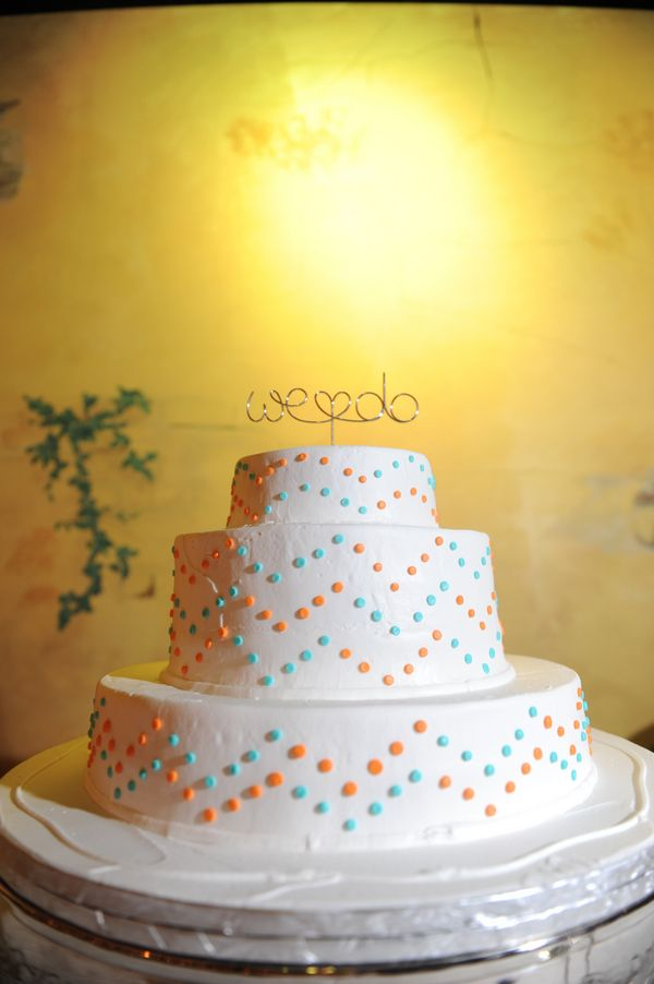 Whimsical Polka Dot Themed Wedding in New Orleans | Themed weddings ...