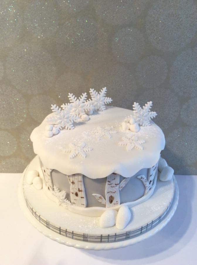 A little Christmas cake - Cake by Penny Sue - CakesDecor