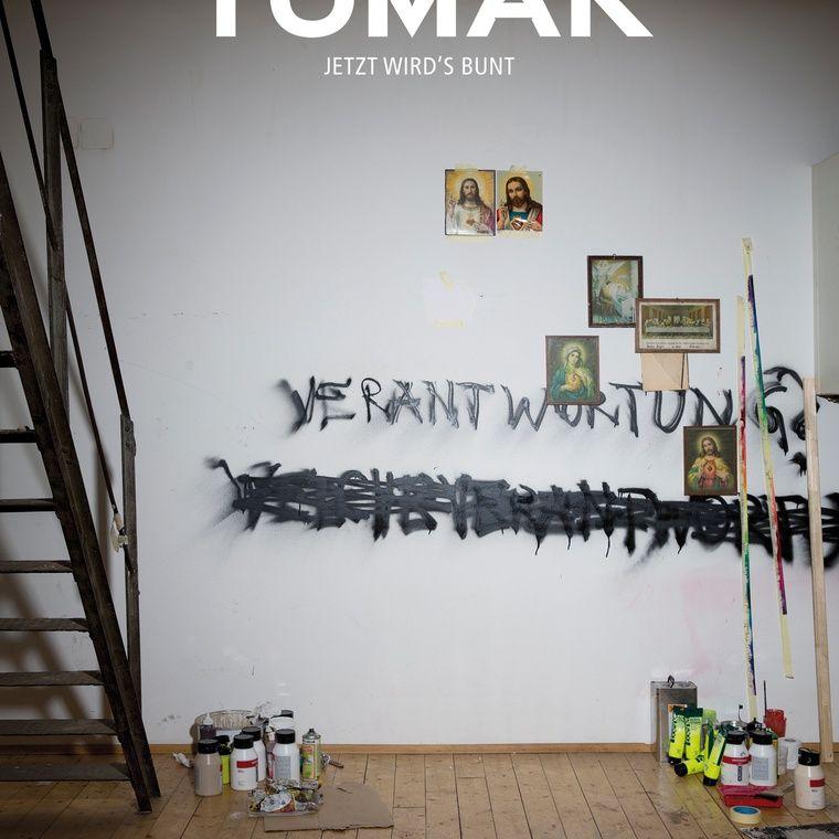 TOMAK / 'Jetzt wirds Bunt'. Ausstellungsdauer: 21. November 2014 bis 31. Jänner 2015. http://www.lisabird.at/contact/